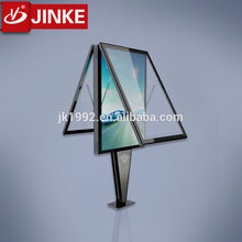 Outdoor Free Stand Advertising Post Frame Lightbox Led Scrolling Signs for Sale