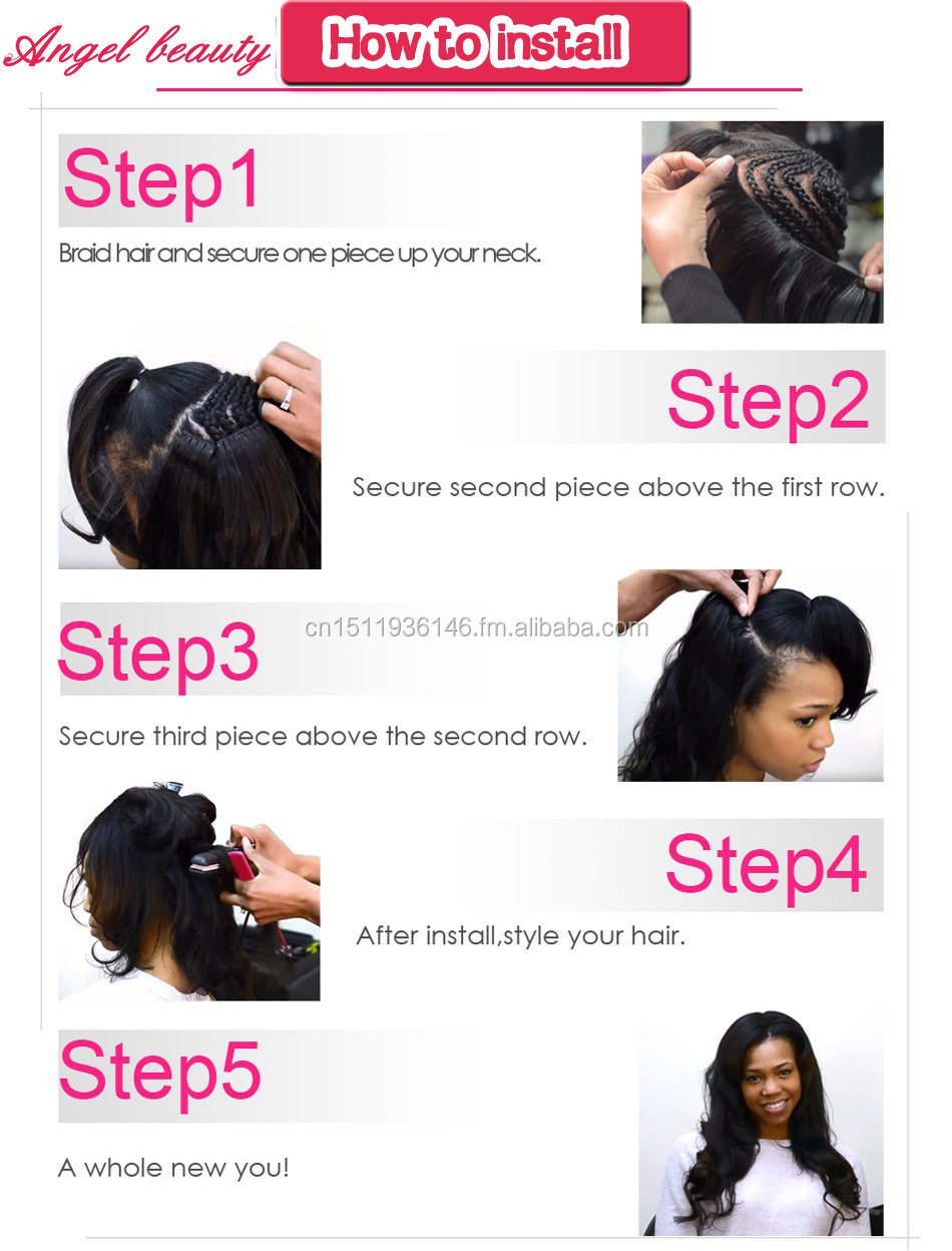 Wholesale Angel Beauty Hair 100 Unprocessed Brazilian Human Hair