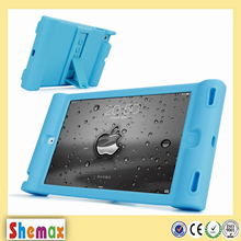 Hot-selling candy silicon bumper case for iPad mini 2,For iPad accessories