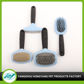 Dog round cleaning brush set