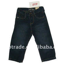 Wholesale latest children jeans boys loose fashion jeans pants