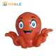 Huale high quality inflatable floating cartoon octopus/inflatable floating water toys for pool
