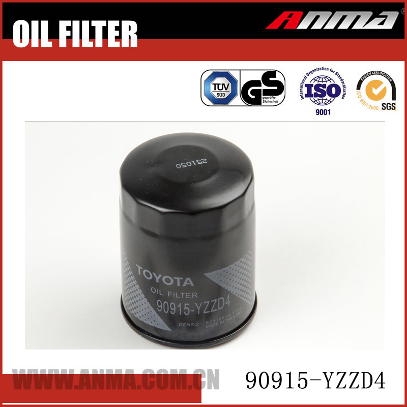 Anma oil filter toyota OEM 90915-YZZD4