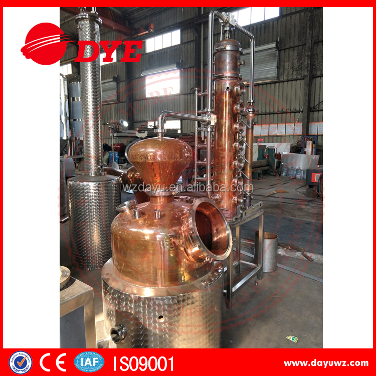 100L Still with Whisky Helmet--Copper Pot (electric heating)/ electric heating distiller for sale