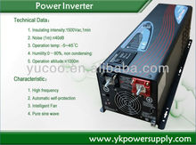 dc 24v 2000W inverter with charger