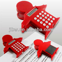 Red Baby Clip Calculator With Magnet