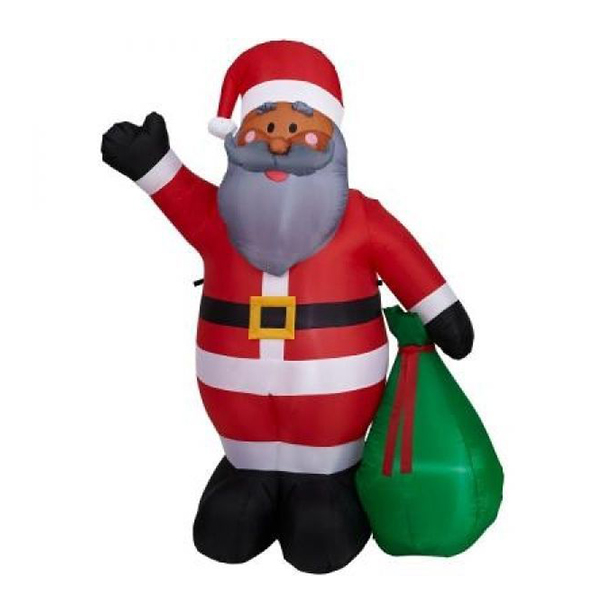 Various inflatable decoration/christmas inflatable santa bring gift bag