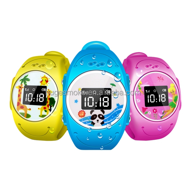 2016 IP68 waterproof GSM kids Cell Phones Smart Watch Mobile Watch Phone with Video Call Kids GPS Q90 Q520S