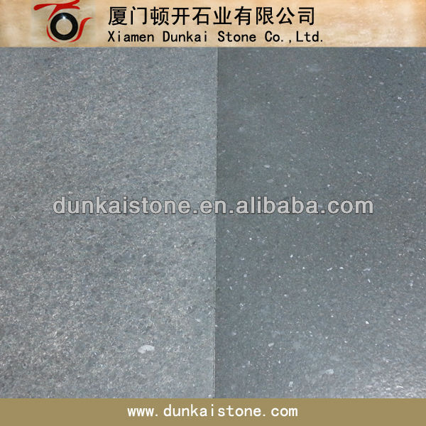 black leather granite