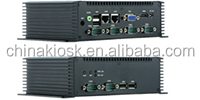 low power Intel Atom N2600 dual core fanless box IPC