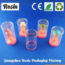 PVC box plastic clear cylinder packaging
