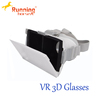 Recyclable plastic vr box 3d vr virtual reality video glasses