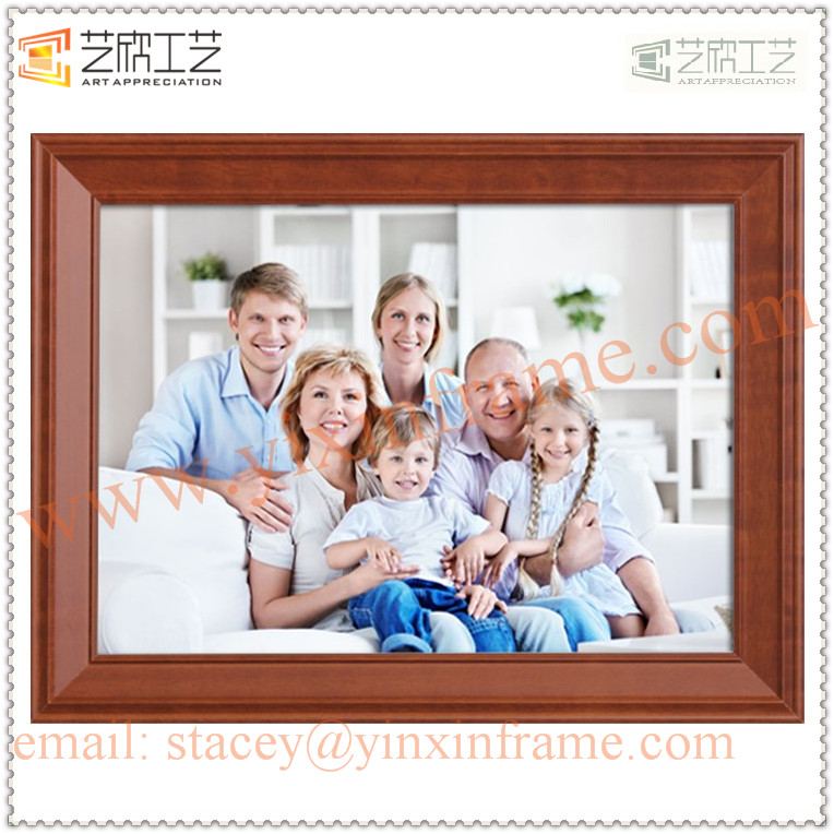 plastic oblong shape desktops wedding family photo frame