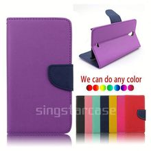 china wholesale card slot leather flip cover for nokia lumia 620 protective case