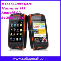 IP67 waterproof cell phone Hummer H1 android mtk6515