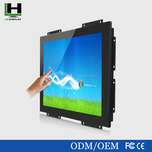 car roof mount lcd monitor with tv 15 Inch Square Metal Shell Open Frame Touch Screen Monitor