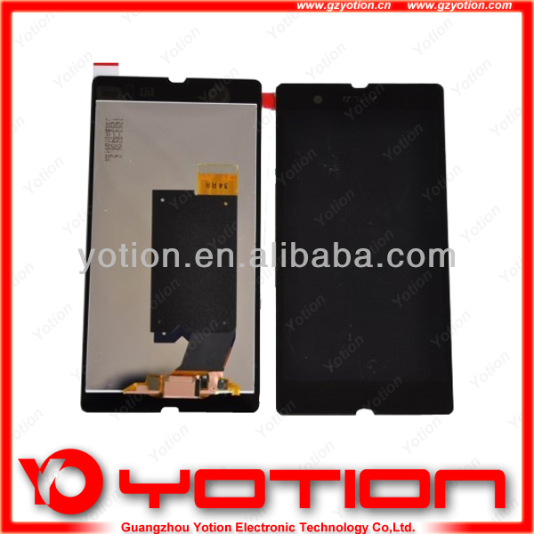 spare part for sony ericsson mobile phone,for sony xperia z l36h lcd touch screen