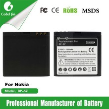 makita battery replacement BP-5Z for Nokia 700 Lumia700 Zeta N7 1500mAh 3.7V battery