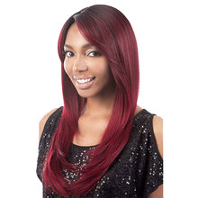 Wholesale Quality Ombre Hair Lace Wig Silk Straight 99J Colored Human Hair Full Lace Wig