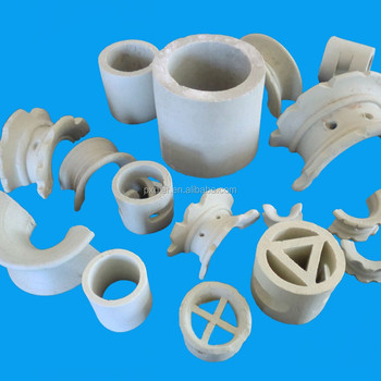 Ceramic Cloumn Packing for Mass Transfer