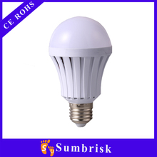China manufacturers A60 3W 5W 7W 9W 12W E27 E26 led rechargeable bulb