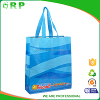 Eco polyester bag promotional shopping bag reusable handbag gift bag