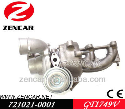 Replacement turbo GT1749V Garrett for Audi A3 721021-0001
