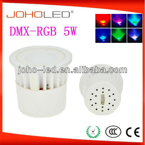 with synchronous and memory function 3w rgb cob spotlight/rgb led spotlight/led light rgb/dmx rgb led downlight/rgb smd led