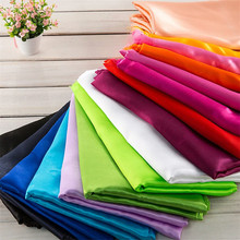 Wholesale high quality soft shiny smooth cheap polyester satin fabric with 700 colors