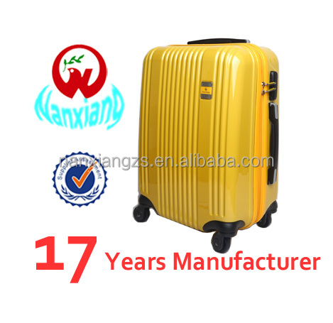 Hot selling abs/pc travel luggage bag it luggage cabin size printed hard shell luggage factory price