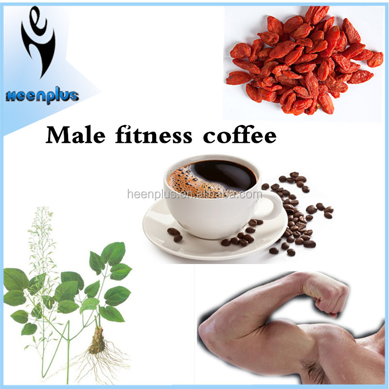 Alibaba China Herbs Bitter Taste Men Strong Coffee for Kidney Enhance