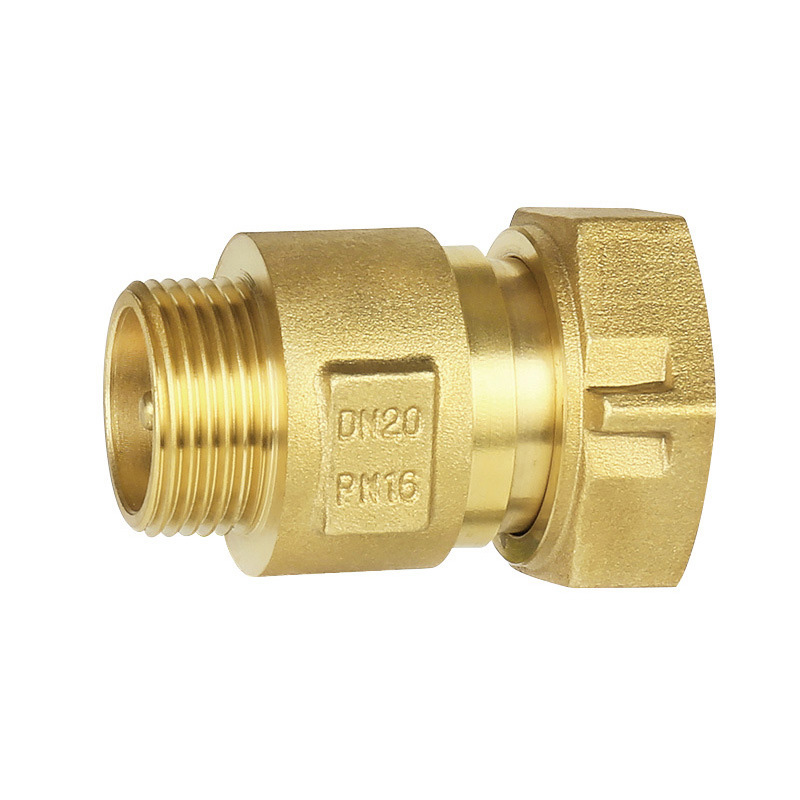 Copper check valve for spring water meter check valve brass
