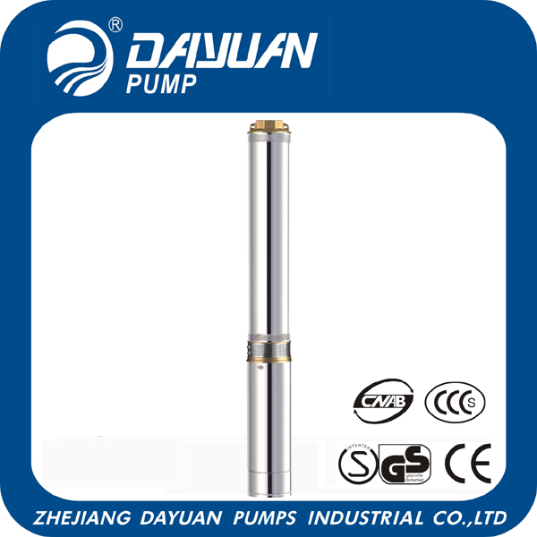 100QJD2 1.5 kw deep well water pump