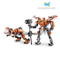 fashion battel game robot kit building blocks new products toys for kids