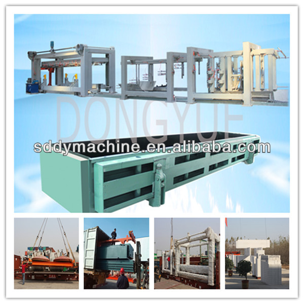 fly ash or sand 50000 to 300000 aac block production line