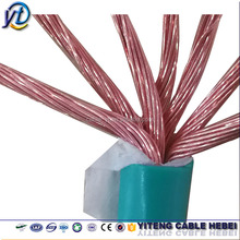 pvc coat copper 14 12 10 8 6 AWG solid stranded thw tw electrical wire