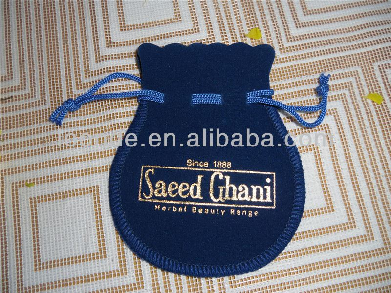 HOT SALE! Germany quality 3x4inch velvet bags and pouches with drawstring