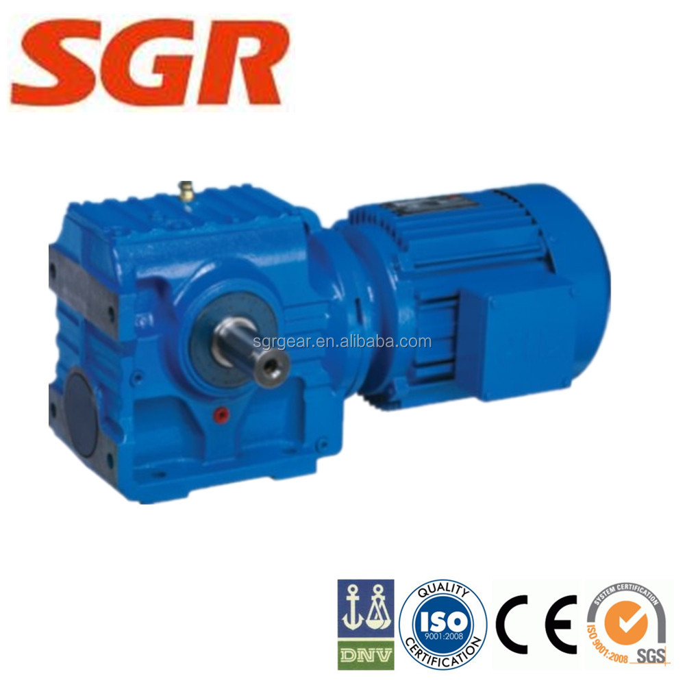 S Series Helical-worm Gearbox Speed Reducer Gear Unit
