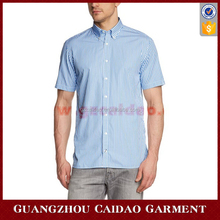 Men's Custom Regular Fit Button Down Short Sleeve Casual Shirt