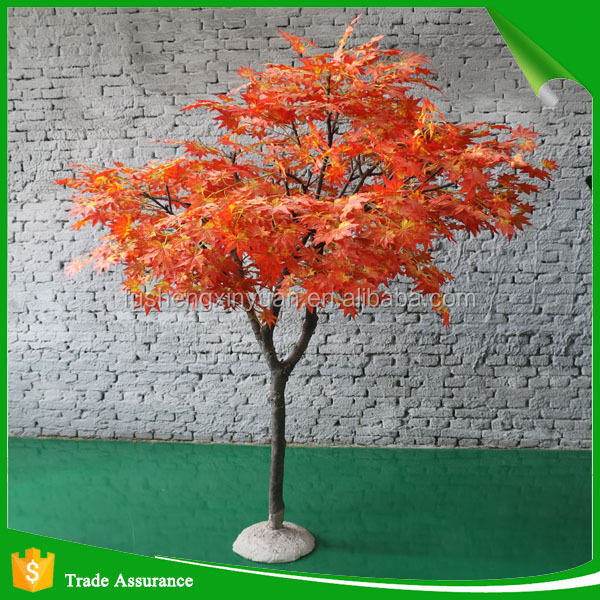 Wholesale Hand Make Decorative Fake Maple Tree