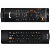 Original New MELE F10 Deluxe 2.4GHz Mini Fly Air Mouse 68 Key Wireless Keyboard Remote