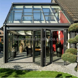 Inland/overseas insulated glass aluminium used sunroom