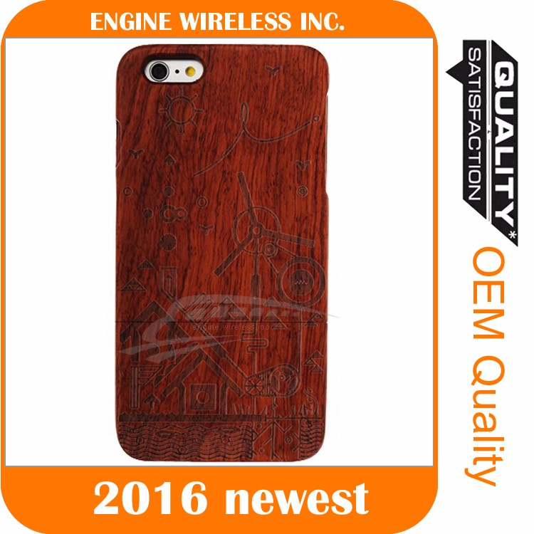 100% Natural Wooden Wood Bamboo Phone Case for iphone 5 luxury