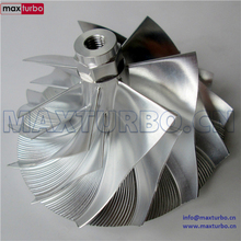 TP38 GTP38 High Performance Turbo Billet Compressor Wheel 729567-0001/ 729567-1 CNC Machined fit 73619-5004S POWERSTROKE