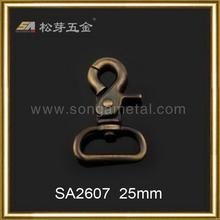 Contemporary new products nice quality bronze snap hooks for bag