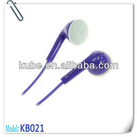 2013 cheap earphone for promotional company free sample offered
