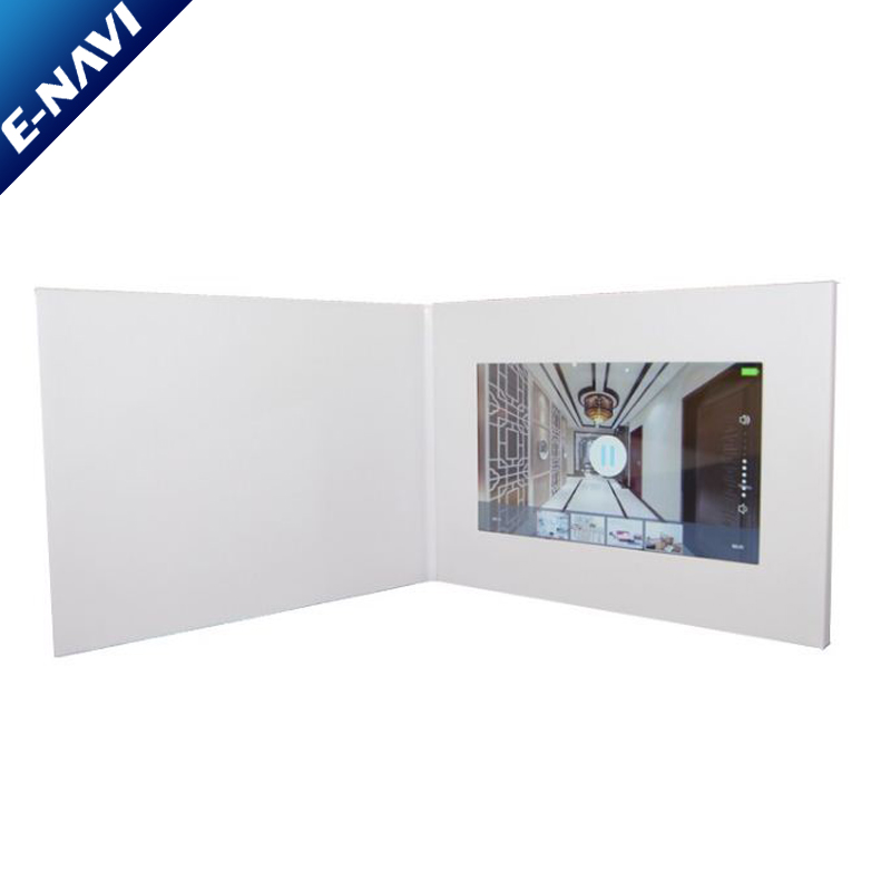 Hottest Customized Printing LCD Video Greeting Card For Promotional Gift