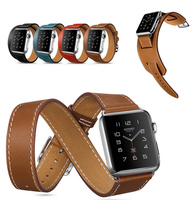 Fashion Long Extend Band Swatch For Apple Watch Strap Link Bracelet Watchband