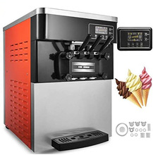 Three flavor soft ice cream machine soft serve ice cream machine factory price