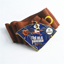 Design your own competition rewards running metal sports medal for finisher